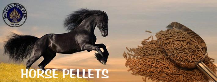 horse pellets