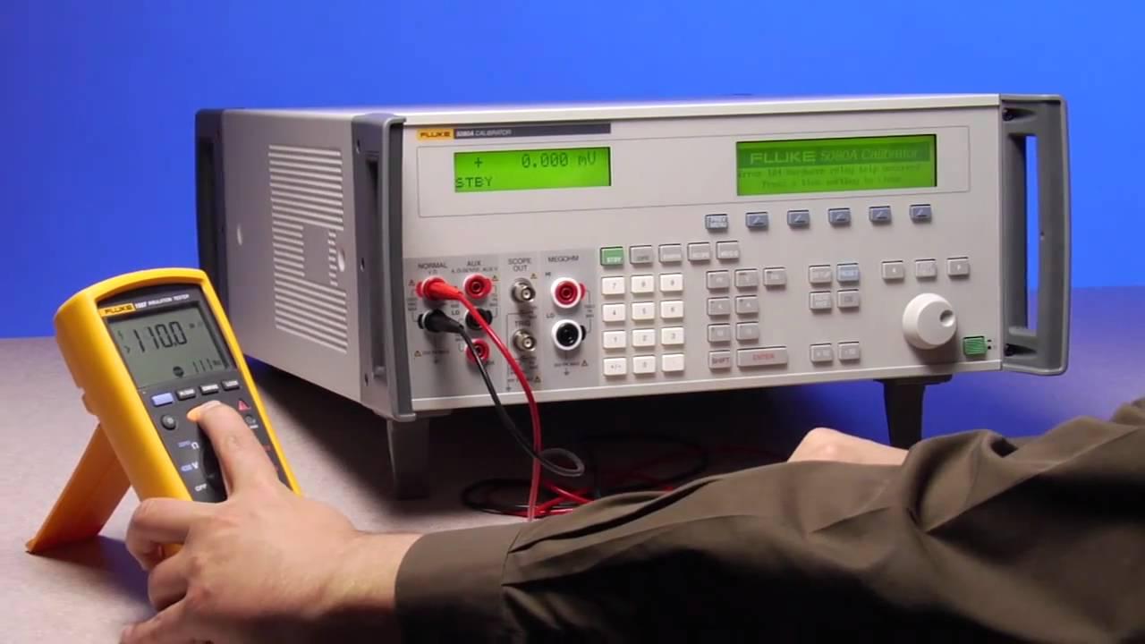 Fluke Meter Calibration